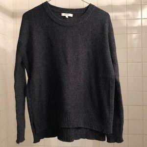 Madewell Dark Gray Crew Sweater